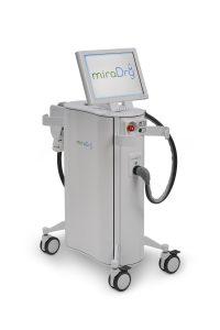 מכשיר לטיפול בהזעת יתר miraDry